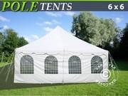 Pole tent Semi Pro Plus 6x6 M PVC