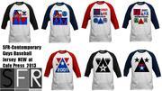Baseball Jersey Shirts  featuring 2001 Millennium Triangle  design