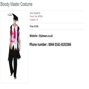 Halloween Costumes is Avaliable on Fancy dresses shop in Manchester