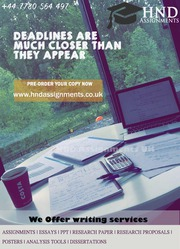 HNC Assignment Help Coursework/Report/Project - Coventry