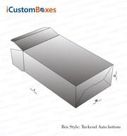 Custom Tuck end auto bottom – custom printed packaging