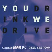 scooterMAN - chauffeur car services london
