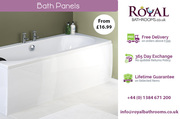 Hi Gloss Front Bath Panel available for Sale