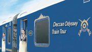The Deccan Odyssey luxury train in India