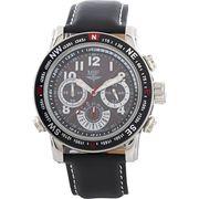 MSF Radio Controlled Men's Analogue Quartz Strap Watch 60003