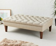 Enhance your rooms with fabric footstools from Footstools&more