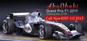 Abu Dhabi Grand Prix Package Deals 2019